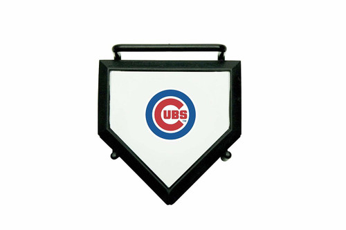 MLB Chicago Cubs Home Plate 4-pack Coaster Set