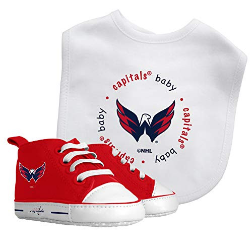 Baby Fanatic Washington Capitals NHL Bib with Pre-Walkers Shoe Set