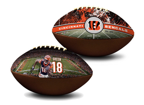 A.J. Green Cincinnati Bengals NFL Full Size Official Licensed Premium Football