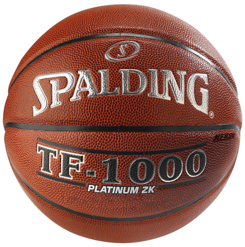 "Spalding TF-1000 Platinum ZK Full Size Basketball Men's Official Size 7 (29.5"")"