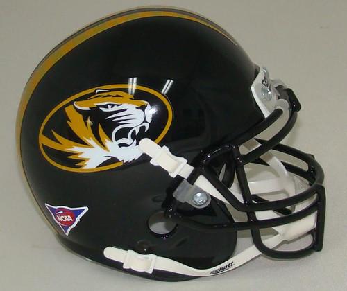 Missouri Tigers Schutt Mini Authentic Helmet