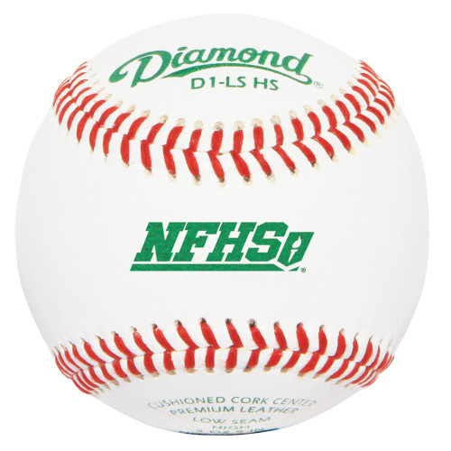 Diamond NFHS Low Seam Baseballs (Dozen) D1-LS HS High School Baseballs