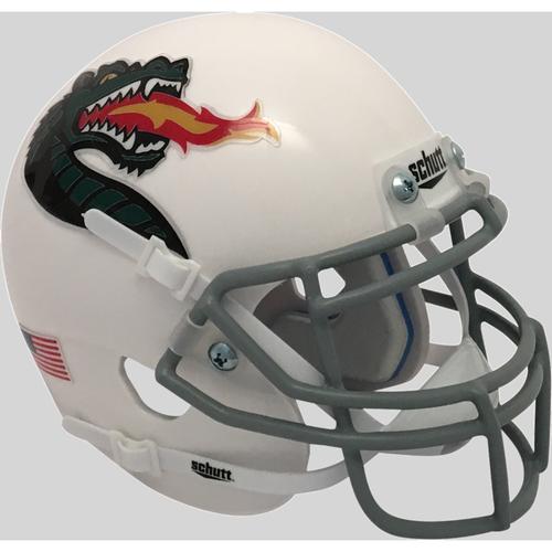 UAB Alabama-Birmingham Blazers Alternate 3 White Schutt Mini Authentic Football Helmet