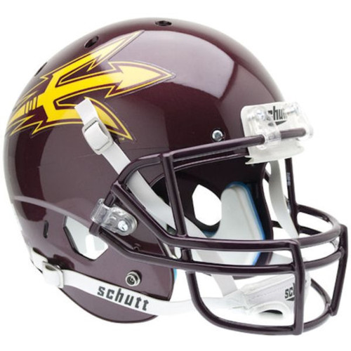 NCAA Arizona State Sun Devils Alternate Maroon Schutt Full Size Replica XP Football Helmet