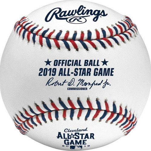 2019 MLB Official All-Star Game Baseball in Cube