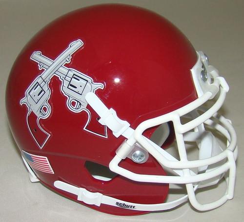 New Mexico State Aggies Alternate Schutt Mini Authentic Football Helmet