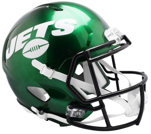 New York Jets 2019 SPEED Riddell Full Size Replica Football Helmet