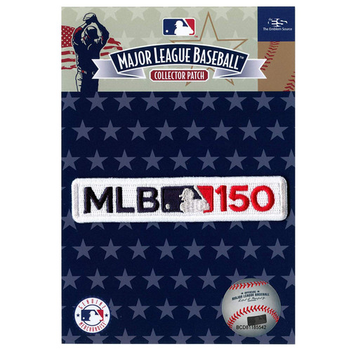 2019 MLB Major League Baseball 150th Anniversary Collectors Patch