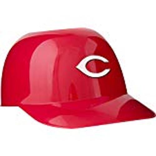 Cincinnati Reds MLB 8oz Snack Size / Ice Cream Mini Baseball Helmets - Quantity 6