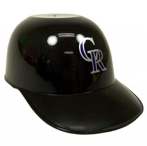 Colorado Rockies MLB 8oz Snack Size / Ice Cream Mini Baseball Helmets - Quantity 1