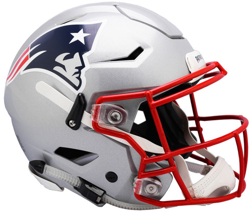 New England Patriots NEW SpeedFlex Riddell Full Size Authentic Football Helmet - Speed Flex