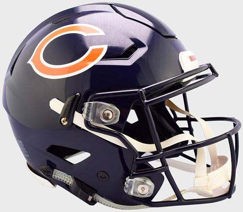 Chicago Bears NEW SpeedFlex Riddell Full Size Authentic Football Helmet - Speed Flex