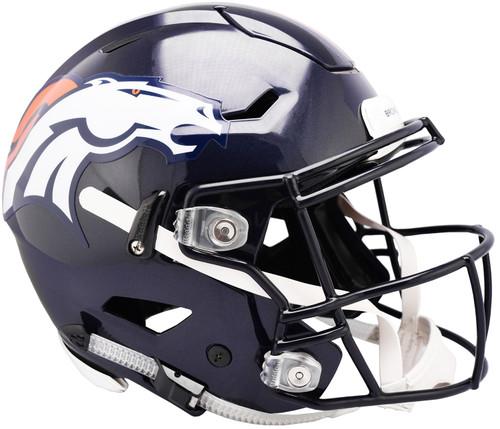 Denver Broncos NEW SpeedFlex Riddell Full Size Authentic Football Helmet - Speed Flex