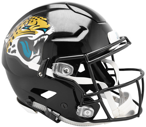 Jacksonville Jaguars NEW SpeedFlex Riddell Full Size Authentic Football Helmet - Speed Flex