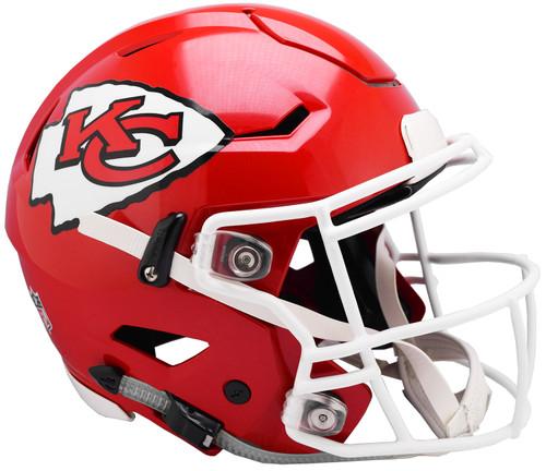 Kansas City Chiefs NEW SpeedFlex Riddell Full Size Authentic Football Helmet - Speed Flex