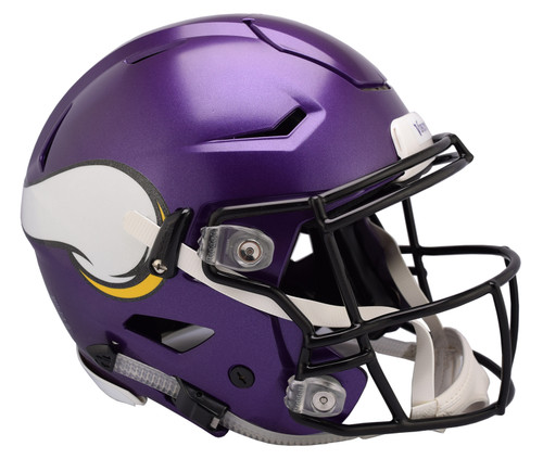 Minnesota Vikings NEW SpeedFlex Riddell Full Size Authentic Football Helmet - Speed Flex