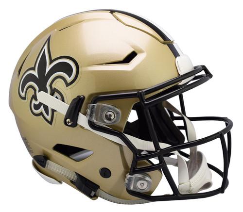 New Orleans Saints NEW SpeedFlex Riddell Full Size Authentic Football Helmet - Speed Flex