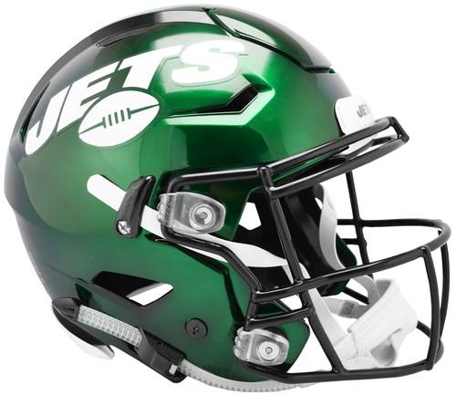 New York Jets NEW SpeedFlex Riddell Full Size Authentic Football Helmet - Speed Flex 2019