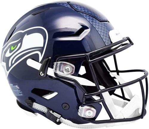 Seattle Seahawks NEW SpeedFlex Riddell Full Size Authentic Football Helmet - Speed Flex