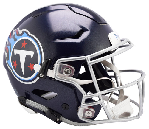 Tennessee Titans NEW SpeedFlex Riddell Full Size Authentic Football Helmet - Speed Flex
