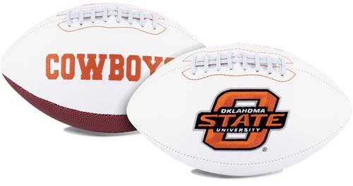 Signature Series NCAA Oklahoma State Cowboys Autograph Full Size Football