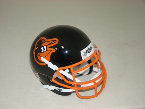 Baltimore Orioles Schutt MLB Mini FOOTBALL Helmet