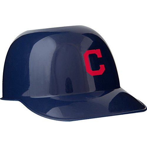 Cleveland Indians MLB 8oz Snack Size / Ice Cream Mini Baseball Helmets - Quantity 6