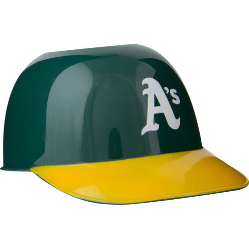 Oakland Athletics MLB 8oz Snack Size / Ice Cream Mini Baseball Helmets - Quantity 12