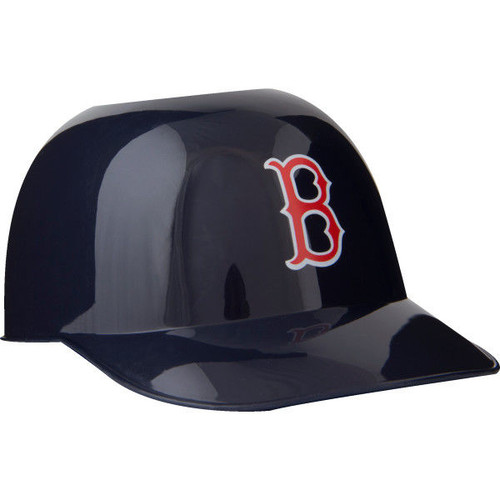 Boston Red Sox MLB 8oz Snack Size / Ice Cream Mini Baseball Helmets - Quantity 12