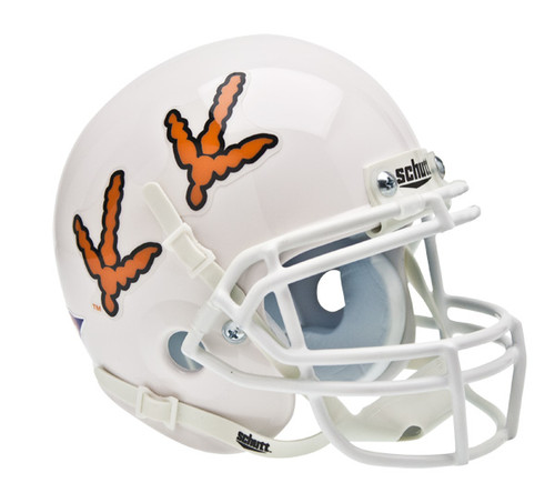 Virginia Tech Hokies Alternate Feet Schutt Mini Authentic Helmet