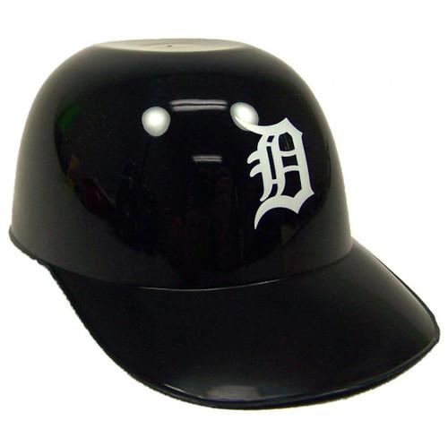 Detroit Tigers MLB 8oz Snack Size / Ice Cream Mini Baseball Helmets - Quantity 12