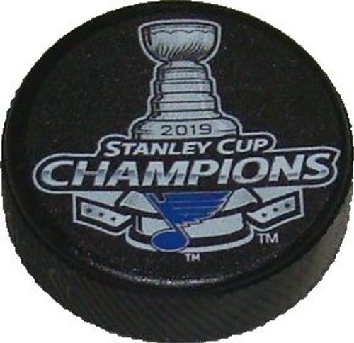 "St. Louis Blues 2019 NHL Stanley Cup Champions Mini Hockey Puck Charm (1.5"")"