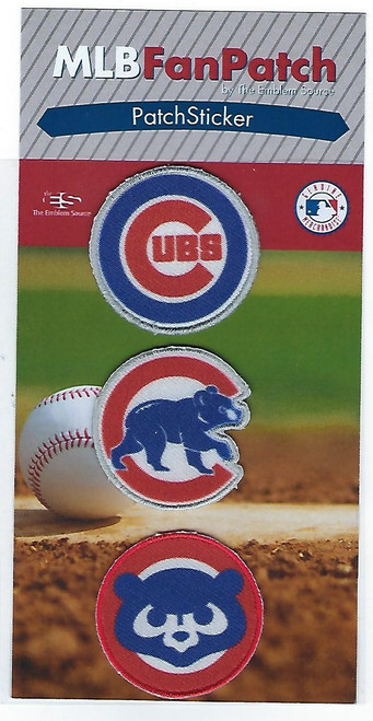 Chicago Cubs Collectible Fan Patch Stickers