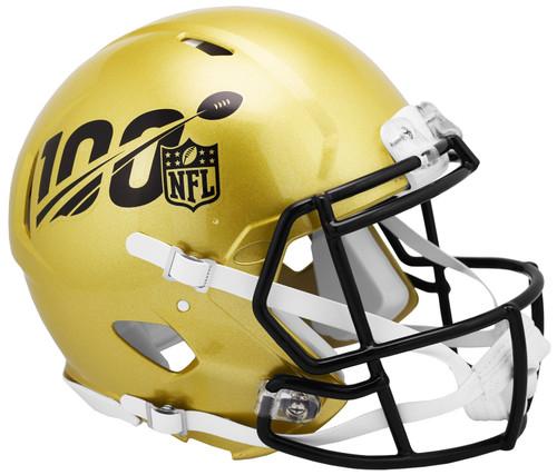 100 Year 100th Anniversary NFL 2019 Mini Speed Football Helmet