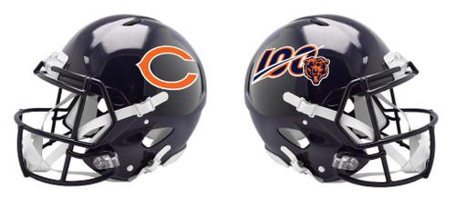 Chicago Bears 100th Season Special Revolution SPEED Mini Football Helmet