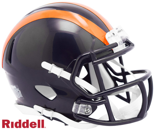 Chicago Bears 1936 Tribute Color Rush Revolution SPEED Mini Football Helmet