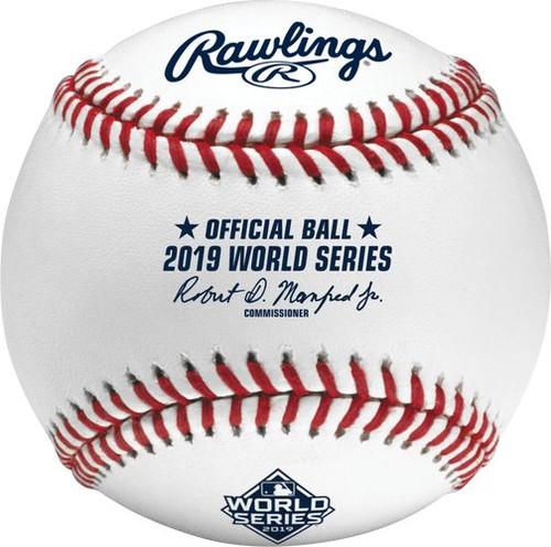 2019 World Series MLB Rawlings Official Baseball