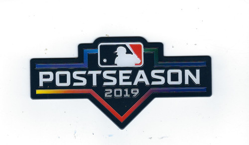 MLB 2019 Postseason Collectors Patch