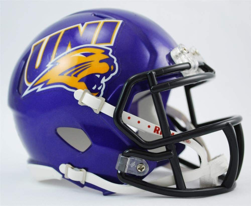 Northern Iowa Panthers Revolution SPEED Mini Football Helmet