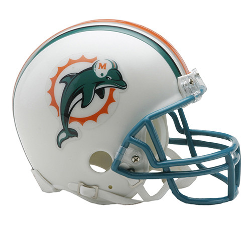 Miami Dolphins 1997-2012 Riddell Mini Helmet