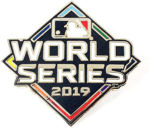 2019 World Series Primary Logo Lapel Pin