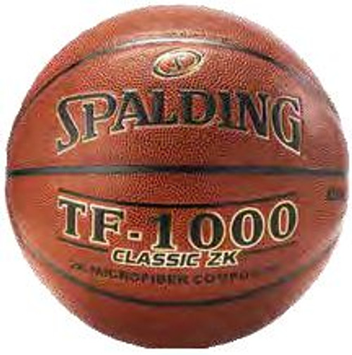 SPALDING TF-1000 Classic ZK Microfiber Composite NFHS High School INDOOR BASKETBALL