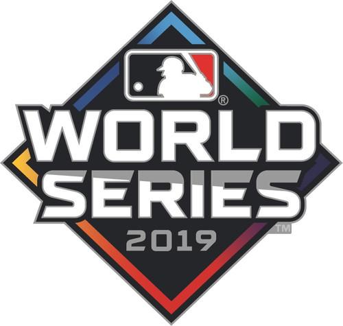 2019 World Series Official Logo Lapel Pin - Nationals vs. Astros