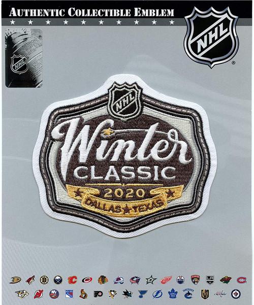 2020 NHL Winter Classic Jersey Patch - Cotton Bowl - Dallas Stars vs. Nashville Predators