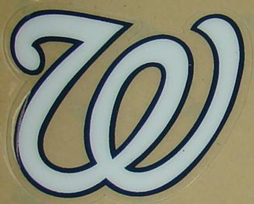 Washington Nationals Full Size Helmet Sticker Decal