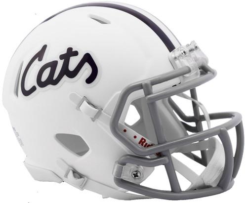 Kansas State Wildcats Alternate Cats White NCAA Revolution SPEED Mini Football Helmet