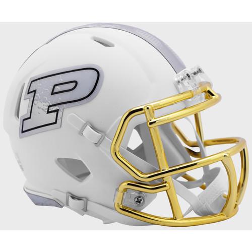 Purdue Boilermakers 2019 Moon Walk Revolution Speed Mini Football Helmet