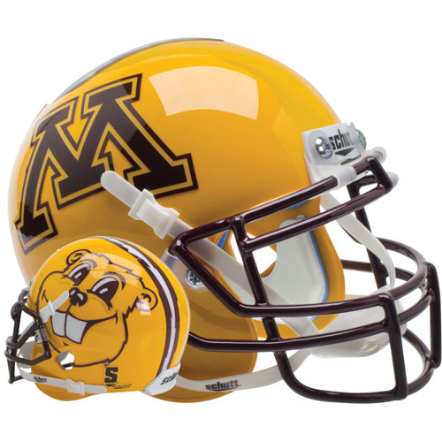 Minnesota Golden Gophers Alternate Goldy Gopher Schutt Full Size Replica XP Football Helmet