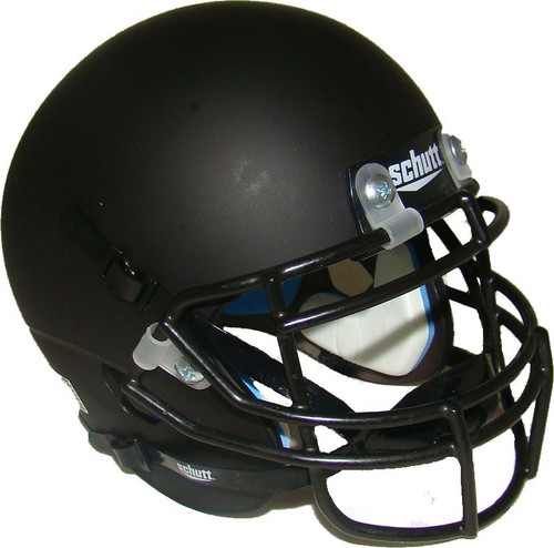 Matte Black Blank Schutt Mini Football Helmet