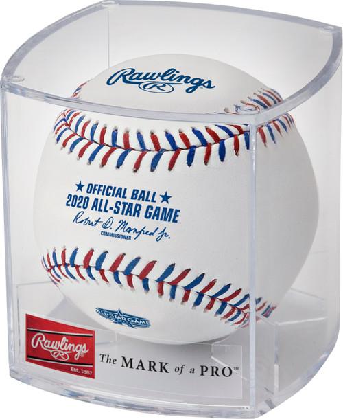 Rawlings 2020 MLB All Star Game Logo Baseball in Cube - Cubed Case